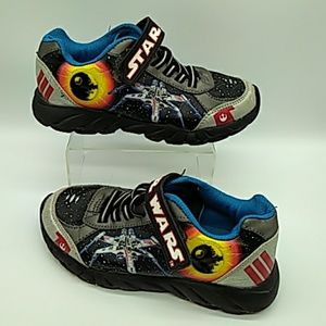 Star Wars Boys Sneakers size 3 pre owned